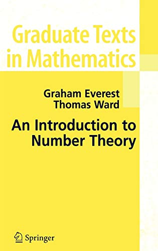 9781852339173: An Introduction to Number Theory (Graduate Texts in Mathematics, Vol. 232)