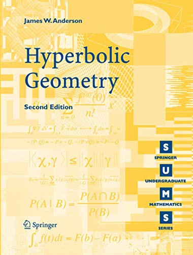 9781852339340: Hyperbolic Geometry (Springer Undergraduate Mathematics Series)