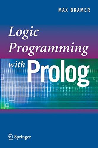 9781852339388: Logic Programming with Prolog