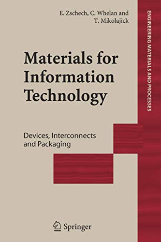 9781852339418: Materials for Information Technology: Devices, Interconnects and Packaging (Engineering Materials and Processes)