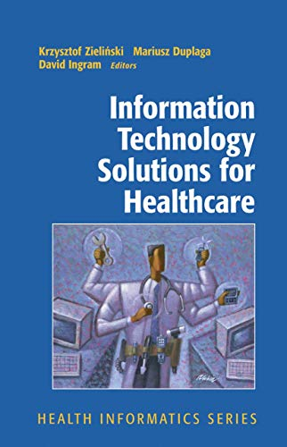 9781852339784: Information Technology Solutions for Healthcare (Health Informatics)