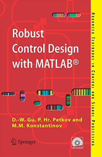 9781852339838: Robust Control Design with MATLAB® (Advanced Textbooks in Control and Signal Processing)
