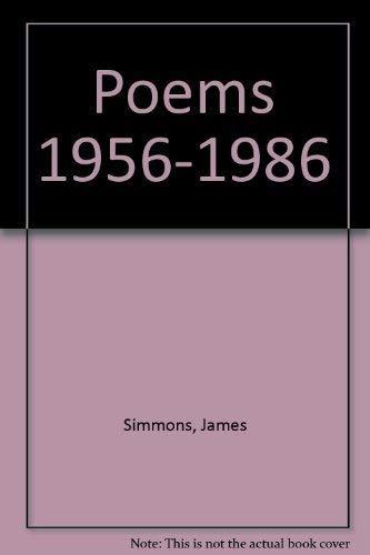 9781852350031: Poems 1956-1986