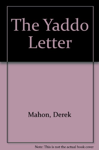 9781852350833: The Yaddo Letter