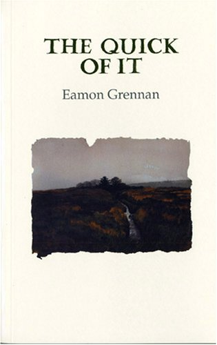 The Quick of It (Gallery Books): Eamon Grennan