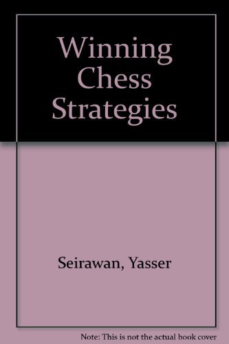 9781852356637: Winning Chess Strategies