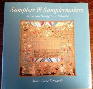 9781852381875: Samplers and Sampler Makers: An American Schoolgirl Art