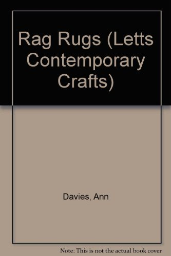 9781852383411: Rag Rugs (Letts Contemporary Crafts)