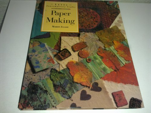 9781852385361: Paper Making (Letts Contemporary Crafts)