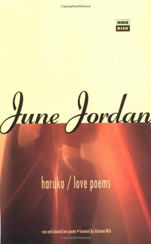 Haruko/Love Poems (High Risk Books): June Jordan