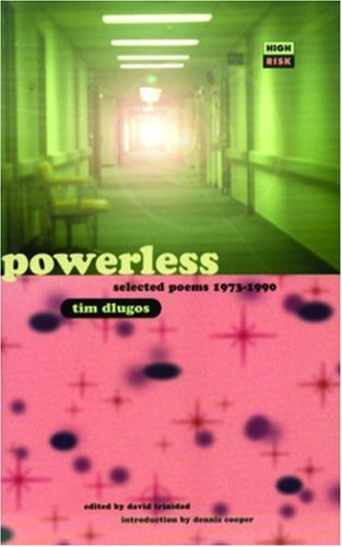 9781852424077: Powerless: Selected Poems 1973-1990 (High Risk Books)