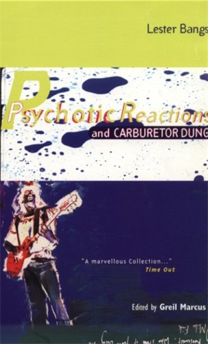9781852425326: Psychotic Reactions and Carburetor Dung