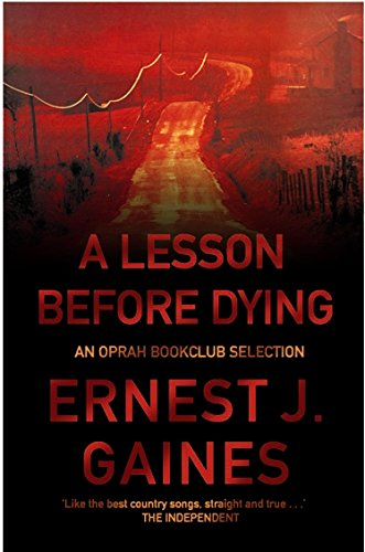 9781852427238: A Lesson Before Dying (Five Star)