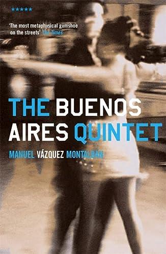 Buenos Aires Quintet (Five Star Fiction S.): Manuel Vázquez Montalbán