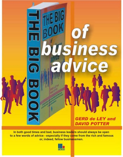 9781852525064: The Big Book of Business Advice