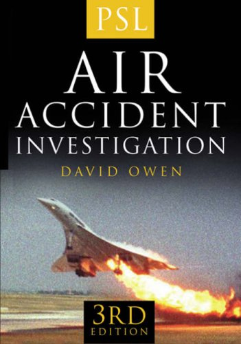 9781852606145: Air Accident Investigation