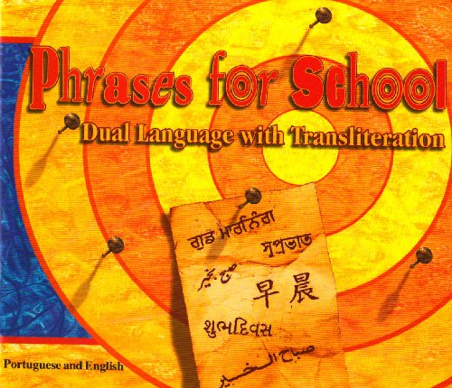 9781852691219: Phrases for School (English and Portuguese Edition)