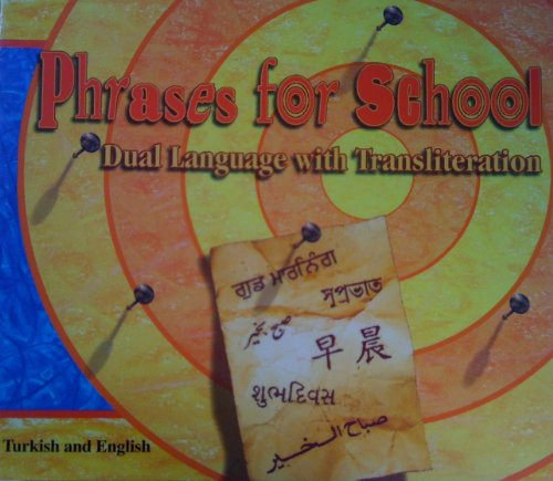 9781852692353: Phrases for School (English and Turkish Edition)