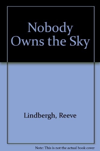 9781852693428: Nobody Owns the Sky