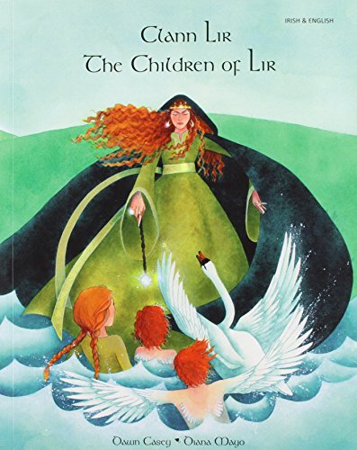 9781852698188: The Children of Lir in Irish and English: A Celtic Legend