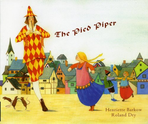The Pied Piper in Albanian and English (English and Albanian Edition): Henriette Barkow