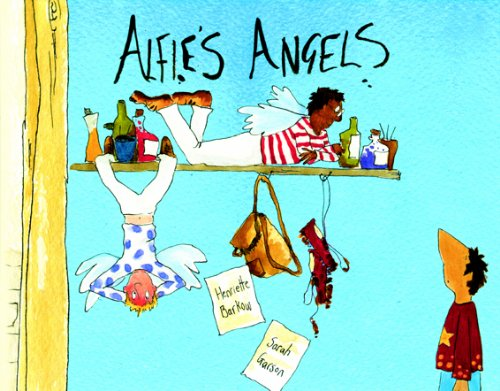 9781852699475: Alfie's Angels in Albanian and English (English and Albanian Edition)