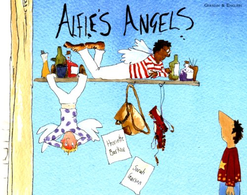 9781852699826: Alfie's Angels in German and English (English and German Edition)