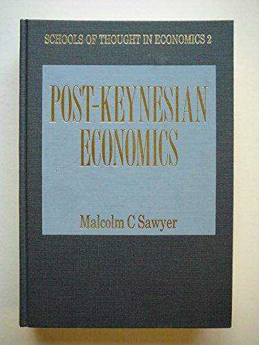 9781852780524: Post-Keynesian Economics (Schools of Thought in Economics)