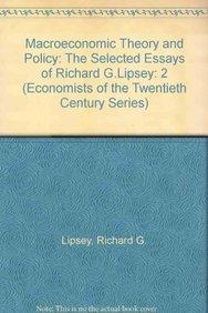 Macroeconomic Theory and Policy Vol. 2 : Lipsey, Richard G.