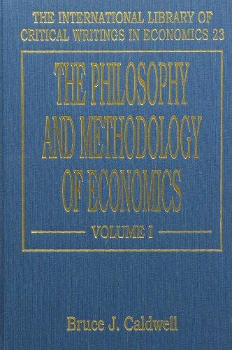 9781852783853: The Philosophy and Methodology of Economics