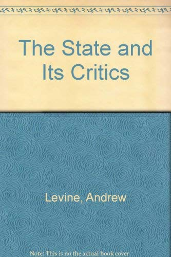 The State and its Critics (Hardback)