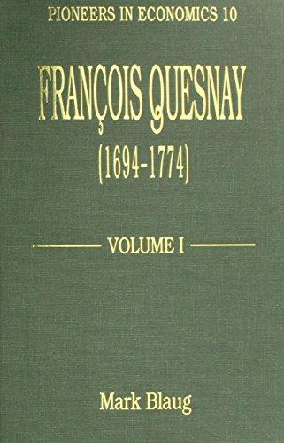 Francois Quesnay, 1694-1774 (Hardback): Mark Blaug