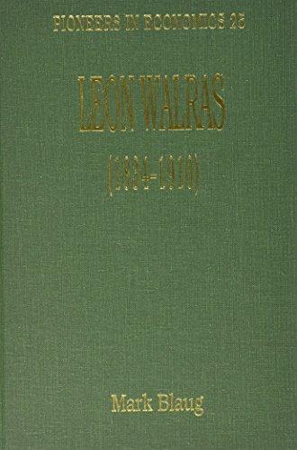 Leon Walras (1834-1910) (Hardback): Mark Blaug