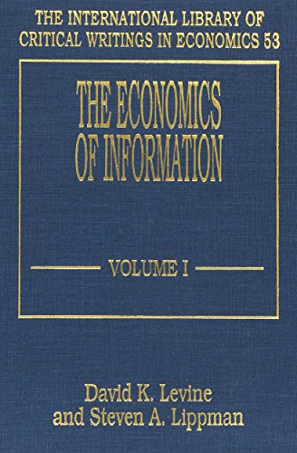The Economics of Information: Vol.1 (Hardback)