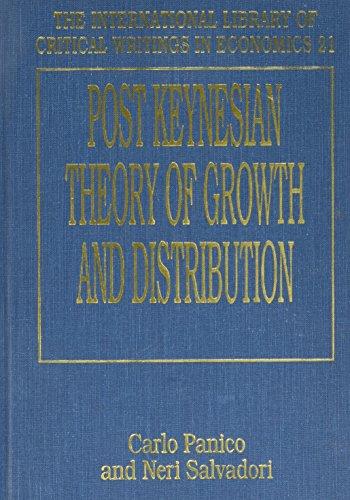 Post-Keynesian Theory of Growth and Distribution: Carlo Panico