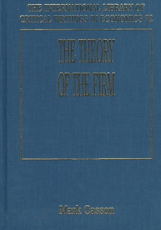 THE THEORY OF THE FIRM (Hardback)