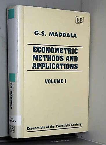 9781852788049: Econometric Methods and Applications (Economists of the Twentieth Century)