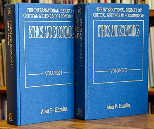 Ethics and Economics: Hamlin, Alan P. (EDT)