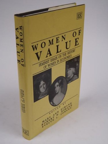 9781852789596: Women of Value: Feminist Essays on the History of Women in Economics