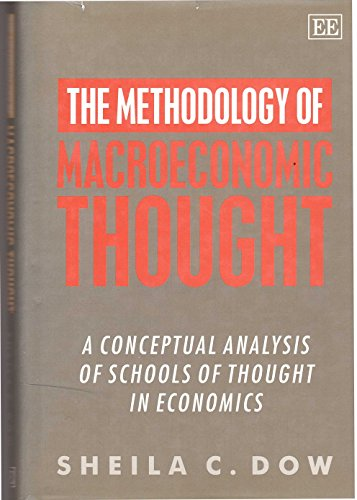 9781852789800: The Methodology of Macroeconomic Thought: A Conceptual Analysis of Schools of Thought in Economics