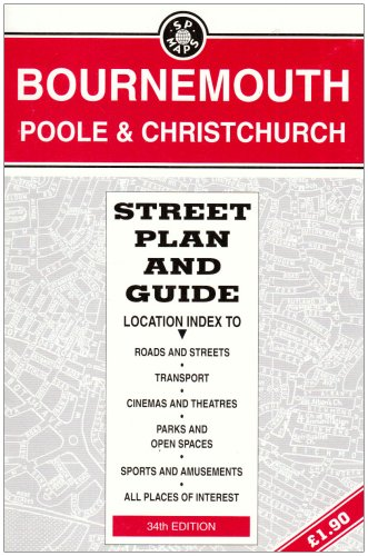 Bournemouth/Poole: Street Plan and Guide