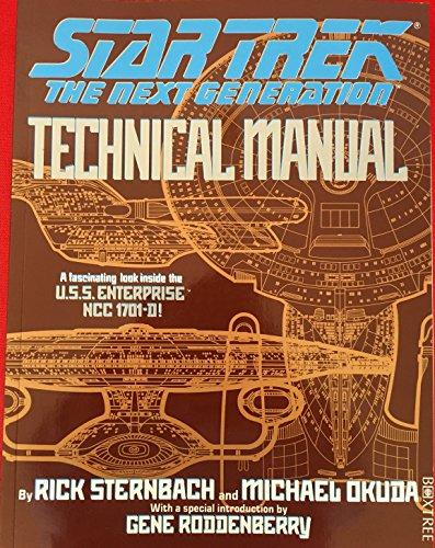 9781852833404: Star Trek: The next generation - Technical manual
