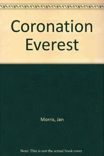 9781852835019: Coronation Everest