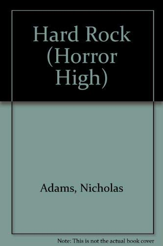 9781852838225: Hard Rock (Horror High)