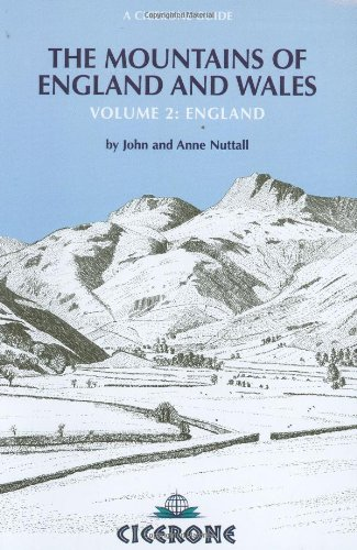 9781852840372: The Mountains of England and Wales: England v. 2