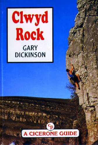 9781852840945: Clwyd Rock (Cicerone guide)