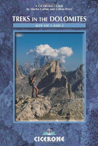 9781852843595: Treks in the Dolomites: Alta Via 1 and 2 (Cicerone Mountain Walking)