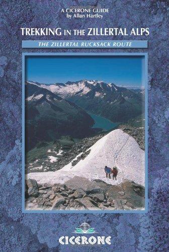 9781852843700: Trekking in the Zillertal Alps (Cicerone Guide)