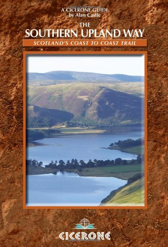 9781852844097: The Southern Upland Way: Scotland's Coast to Coast Trail (Cicerone Guide)
