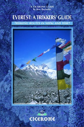 9781852844189: Everest: Trekking Routes in Nepal and Tibet: A Trekker's Guide (Cicerone Guide)